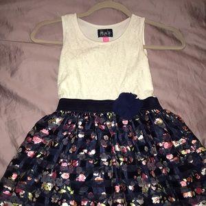 Girls flower dress